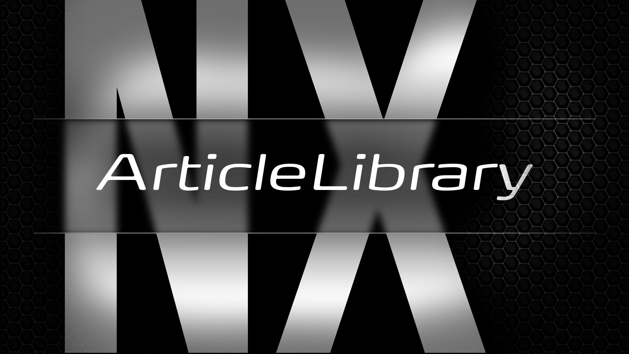 nx-ArticleLibrary Logo